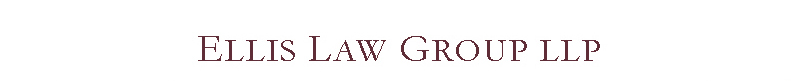 Ellis Law Group logo